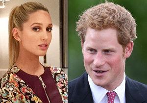 Princ Harry je šťastně zamilovaný do řecko-dánské princezny Marii-Olympii.