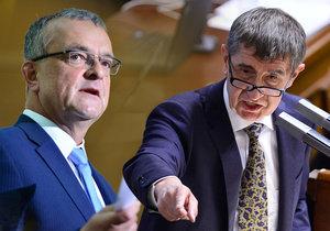 """Babiš protlačil evidenci tržeb. """"Ucpali jste hubu opozici,"""" bouří se Kalousek"""