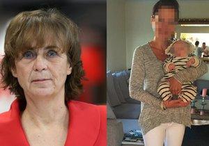 Poslankyně Jitka Chalánková (TOP 09) má v případu odebrané devítiměsíční holčičky české matce v Norsku plný přístup do spisu.