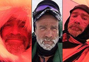 Henry Worsley zemřel poté, co se rozhodl, že sám přejde Antarktidu. Selfie zachycují, jak postupně chřadl.
