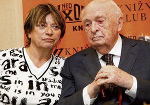 Jitka Němcová s Otakarem Vávrou prožila 40 let.