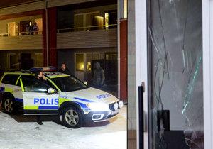Devatenáct mladých uprchlíků se ve Švédsku vzbouřilo kvůli upírané sladkosti. Zaútočili zbraněmi na pracovníky azylového domu.