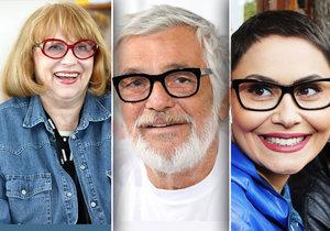 Obrýlené celebrity. Kdo nosí brýle skutečně a kdo jen pro módu?