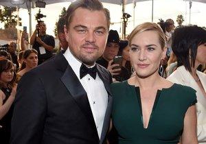 Leo a Kate na předávání cen SAG.