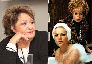 Hlavní roli v komedii Pane, vy jste vdova! měla hrát Jiřina Bohdalová. Ale zrovna měla od komunistů stopku.