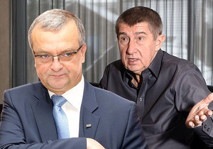 Ministerstvo financí vede nyní Andrej Babiš (ANO, vpravo), za něj se ale parametry stavebního spoření neměnily. To snaha jeho předchůdce Miroslava Kalouska (TOP 09) dokonce i o zpětnou změnu podmínek státní podpory skončila až u Ústavního soudu, který se mu postavil.