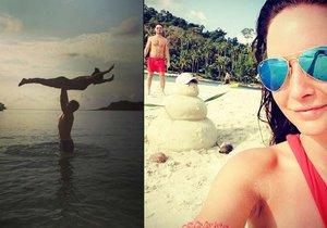 Veronika Arichteva byla na dovolené v Thajsku.