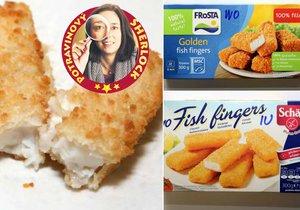 Jak dopadl test rybích prstů? Dvoje chutnaly jak shnilá ryba!