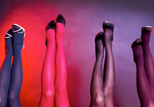Vše o punčocháčích i punčochách nám prozradí stylistka Klára Klempířová
