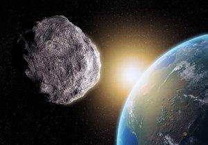 K Zemi se řítí asteroid, jeho dráha je velmi nejistá