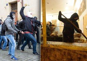 Skupina demonstrantů se střetla s odpůrci v sobotu na Malé Straně. Ti samí napadli Kliniku?