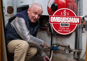 František Hromadník ze Zruče nad Sázavou doufá, že má šanci uspět ve sporu s firmou provádějící měření vodoměrů. Kvůli ní mu přestal fungovat plynový kotel.