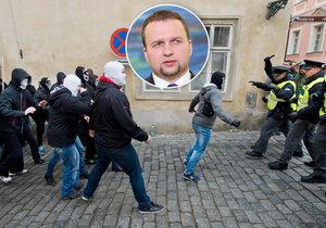 Marian Jurečka chce slyšet od Milana Chovance podrobnosti k průběhu sobotních demonstrací.
