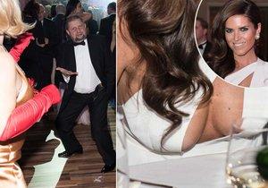 Na plese mediků na Slovensku bylo pořádně veselo.
