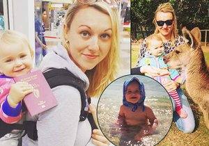 Maminka procestovala s malou dcerkou půlku světa!