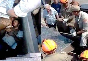 Muže v Brazílii zbili a pak ho pohřbili zaživa.