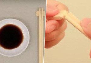 Na co je ten dřevěný špalíček, který odlomíte z čínských hůlek? My už to víme!