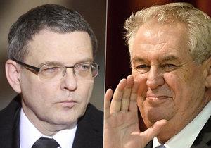 Zaorálek narazil na Zemana: Pokud jde o zmizelé Čechy, je lépe držet pusu