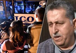 Georgis Batto promluvil o tom, jak je  jeho rodina nespokojená s byty, kterém jim Jihlava nabídla.