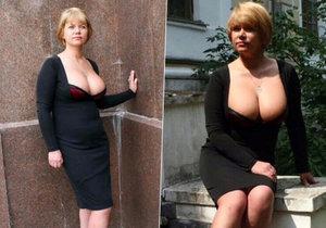 Šéfkuchařka Iryna Vovk musela opustit dolní komoru parlamentu poté, co odhalila poprsí.