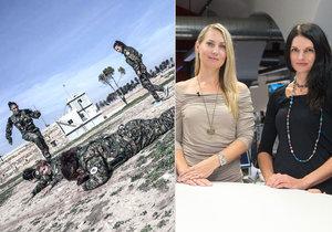 Lenka Klicperová a Markéta Kutilová opět vyrazily do Sýrie.