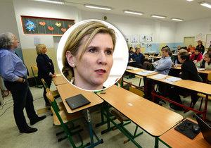 Kateřina Valachová se na diskuzi o inkluzi vůbec nedostavila.