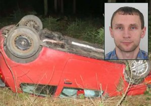 Pavel (38) už je nezvěstný skoro týden, našlo se jen jeho havarované auto.