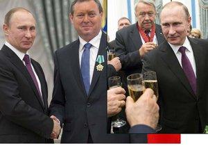 Jiří Maštálka (KSČM) převzal od Vladimira Putina během slavnostního ceremoniálu v Kremlu Řád přátelství