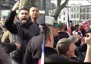 Londonistán 2016? Muslimové málem zlynčovali Brity.