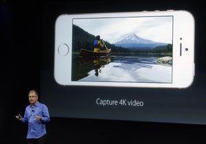 iPhone SE umí natáčet videa v rozlišení 4K.
