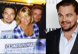 Leonardo DiCaprio si oblékl triko s nápisem Československo – realita, nebo podvod?