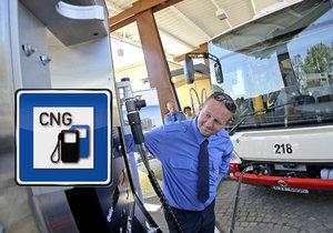 Kolik vozidel jezdí v ČR na zemní plyn a jaké jsou plány státních úředníků?