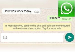 WhatsApp začal šifrovat zprávy. Bezpečnost messengeru se zvýšila.