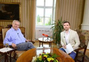 Celý záznam pořadu S prezidentem v Lánech: Chudinka Dusilová i škodlivá inkluze