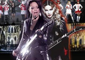 Lucka Bílá show kolegyně Madonny docela obyčejně okopírovala.