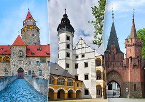 Nejkrásnější hrady a zámky Moravskoslezského a Olomouckého kraje