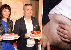 Režisér má dietu, premiéra je ale důvod ji porušit!