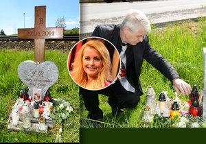 Josef Rychtář se vrátil ke kolejím přesně v čas, kdy Iveta Bartošová zemřela pod koly vlaku.