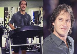 """""""Obden cvičím a jsem v nejlepší kondici za posledních dvacet let!"""" napsal Pavol."""