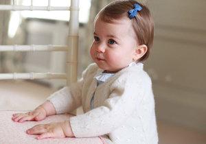 Princezně Charlotte bude v pondělí 1 rok!
