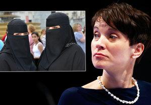 Burky a mešity chtějí zakázat Klausovi přátelé: Islám do ústavy nepatří