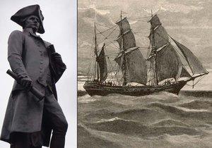 Američtí archeologové nejspíš objevili loď kapitána Jamese Cooka.
