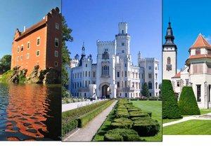 Nejkrásnější hrady a zámky Jihočeského kraje a Vysočiny