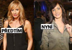 Daniela Šinkorová se zase vrátila k tmavé barvě.