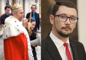 Jiří Ovčáček si zřejmě kvůli řečem Marka Ebena pořídí speciální tyč a truhlu na moudra.