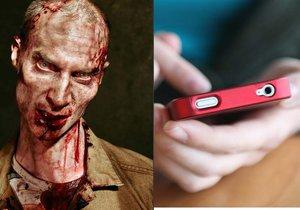 Smombie je nový výraz pro závisláky na telefonu.