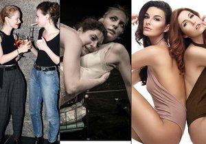 V českém showbyznysovém rybníčku existují dvojice hereček, zpěvaček nebo modelek, které by bez sebe nedaly ani ránu. Člověk by snad až zapochyboval, zda jde o pouhé kamarádství…