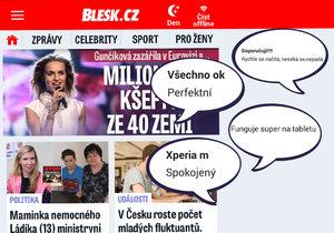 Aplikace Blesk.cz pro Android byla přepracována a je ještě lepší.
