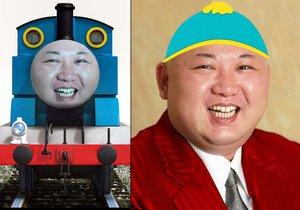 Kim Čong-un to schytal od vtipálků s photoshopem.