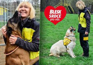 Zuzana Daušová (55) z organizace Helppes o vodicích psech: Nejvíc práce mi dal finský špic!